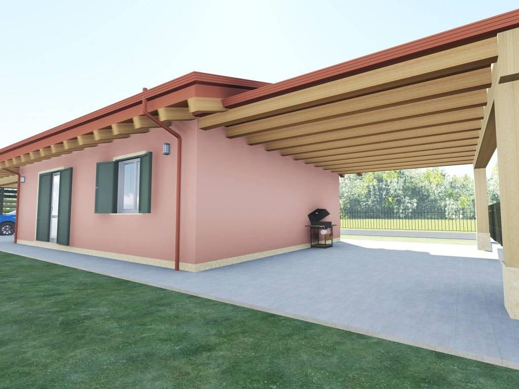 foto  Villa unifamiliare, nuova, 150 mq, Trevenzuolo