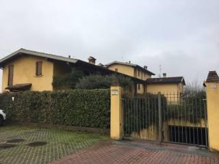 Foto - Villetta a schiera via Dante, Castenedolo