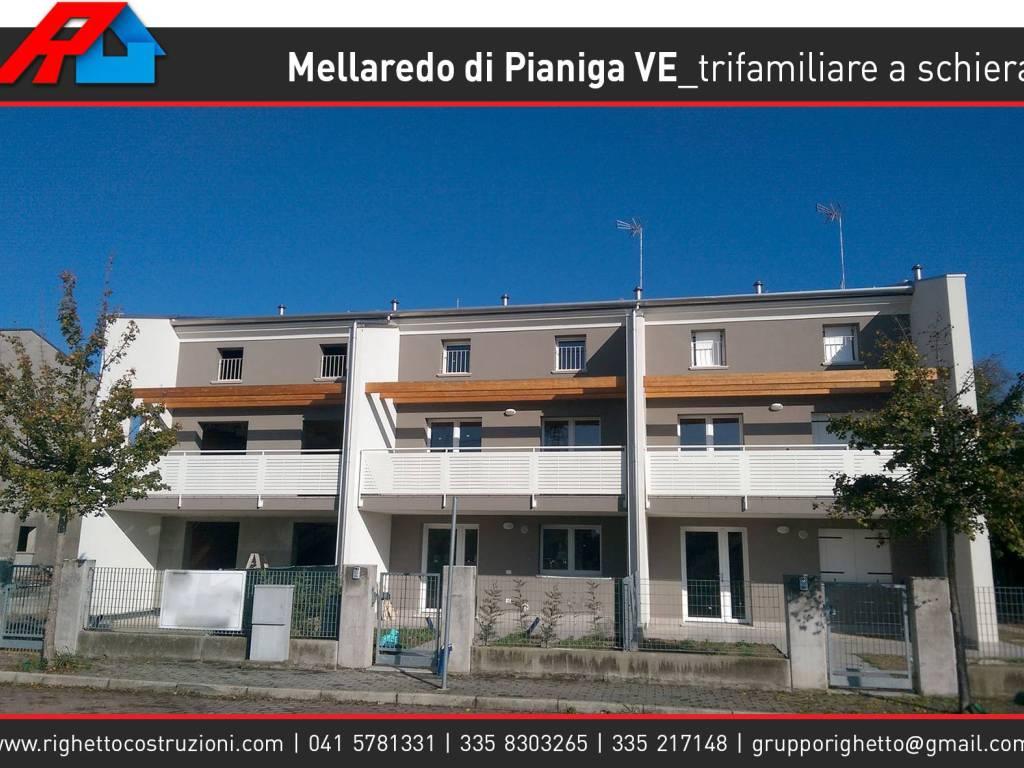 foto Esterno Villa a schiera via Lorenzo Perosi 69, Pianiga