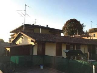 Foto - Villetta a schiera all'asta via G  Benzoni 10, Offanengo