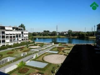 Foto - Monolocale ottimo stato, quarto piano, Villaggio Cavour, Settimo Milanese