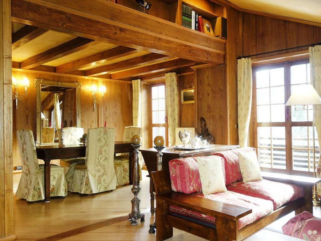 foto 1soggiorno1 mansarda lussuosa 3 camere, 2 bagni (3 Attic strada Plan Gorret, Courmayeur