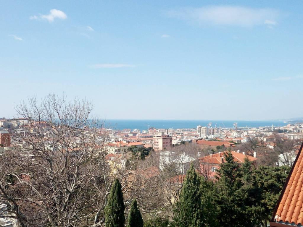 foto vista da terrazzo 2 Attico vicolo degli Scaglioni 20, Trieste