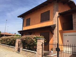 Foto - Villa a schiera via Giuseppe Laboranti, Dorno