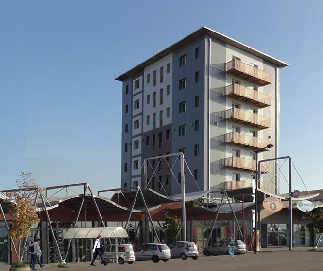 foto esterno 4-room flat via Monte Nero 73-A, Galliate
