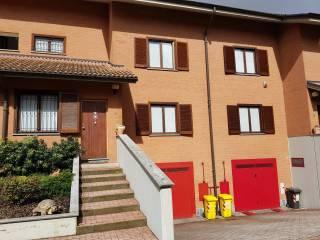Foto - Villetta a schiera via Volpiano 6, Lombardore