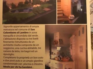 Foto - Appartamento via Belfuggito, San Colombano al Lambro