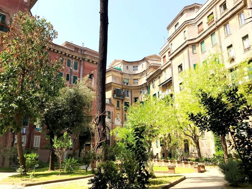 Foto Esterno Giardino Trilocale Piazza Giuseppe Mazzini, Roma