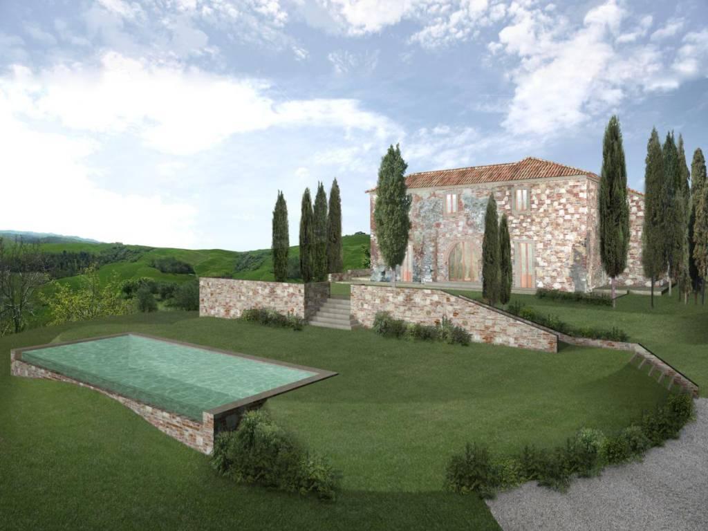 foto Lavori finiti Casa colonica Strada Provinciale Torre a Castello, Asciano