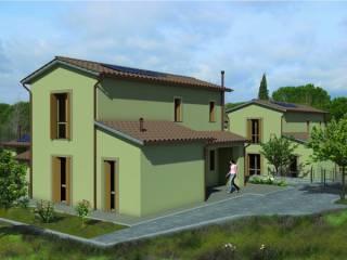 Foto - Casa indipendente 150 mq, nuova, Monteriggioni