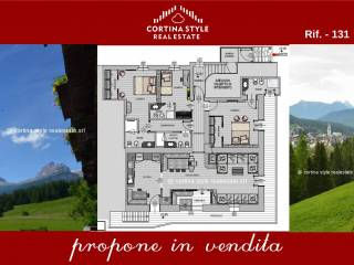 Foto - Appartamento via Cadin, Cortina d'Ampezzo