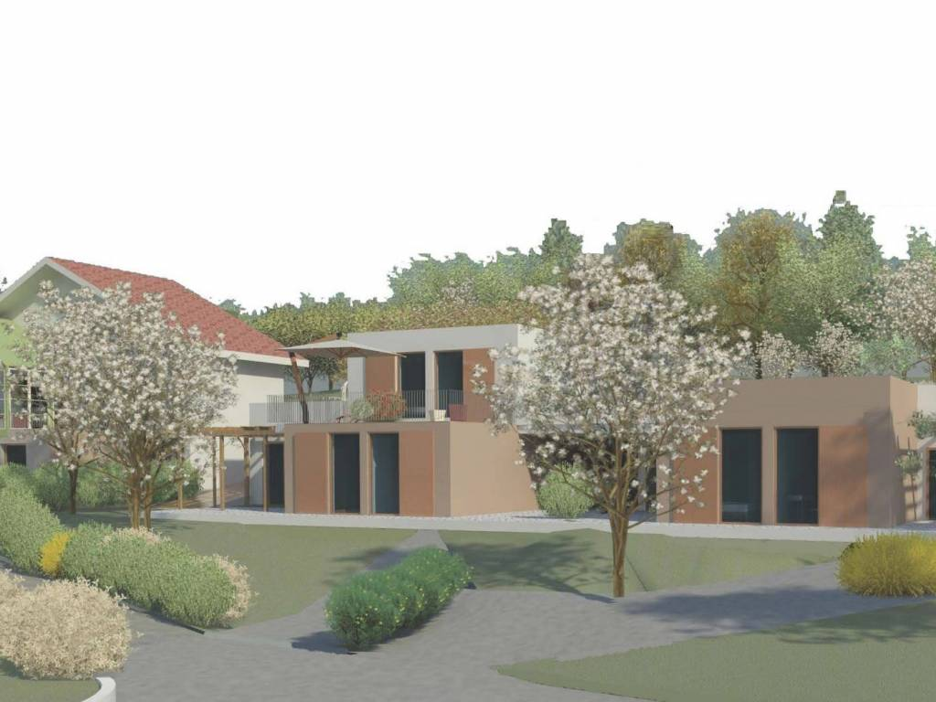 foto render4 Two-family villa, new, 100 sq.m., Andezeno