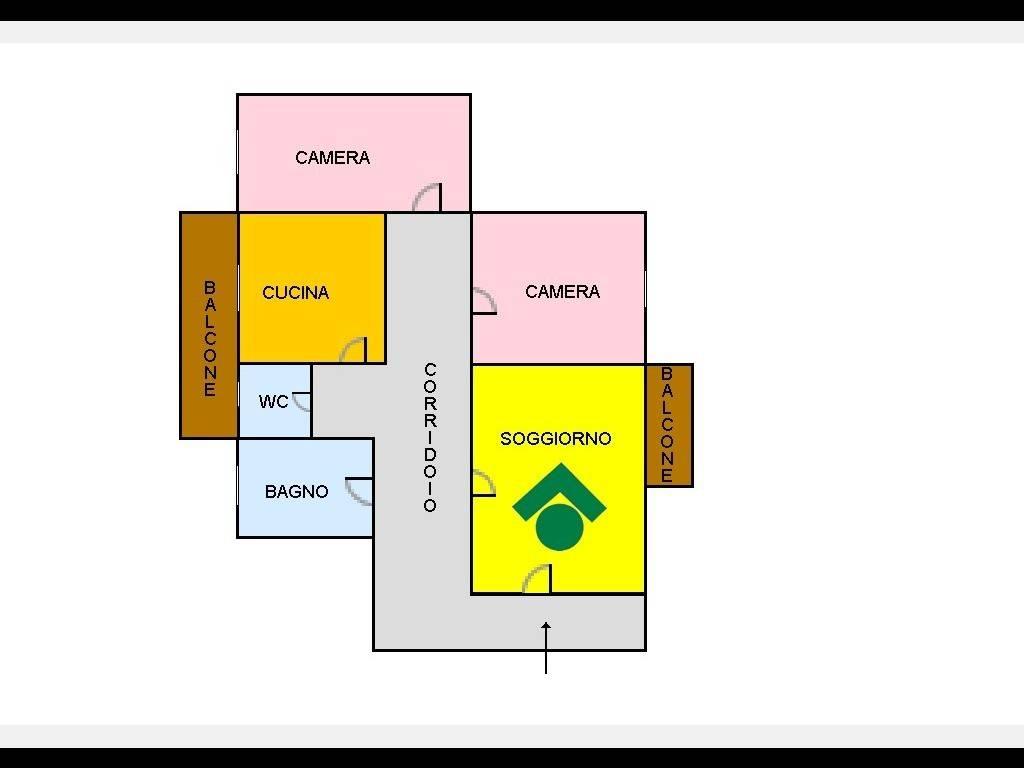 foto  Trilocale da ristrutturare, quarto piano, Arzano