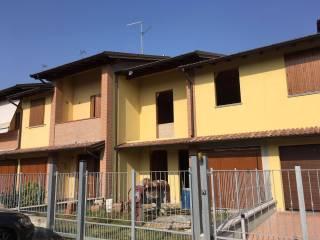 Foto - Villetta a schiera via Boschiroli, Credera Rubbiano