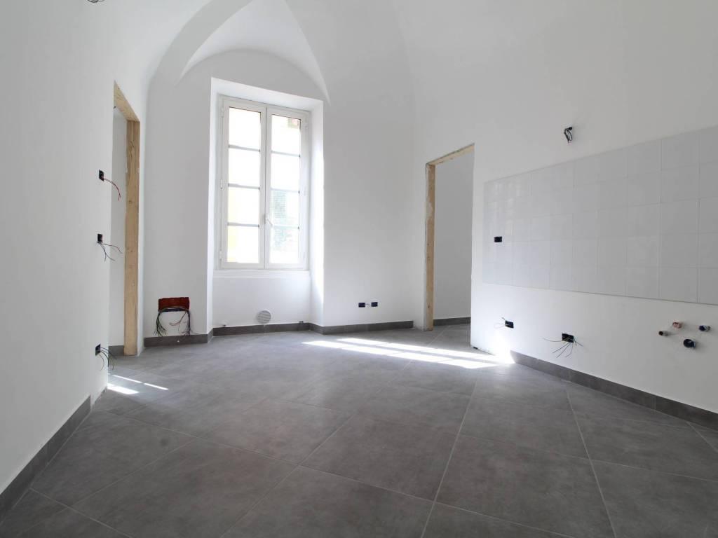 foto sala con angolo cottura Trilocale via xx settembre, 3, Imperia