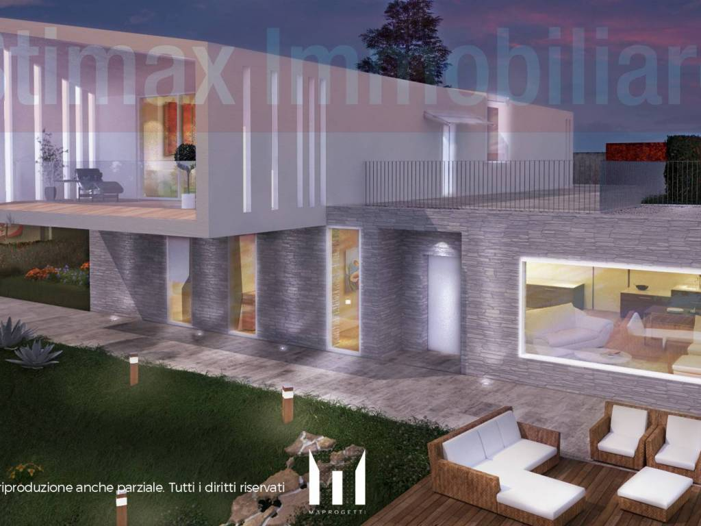 foto vista1 Villa, nuova, 240 mq, Castelnuovo Rangone