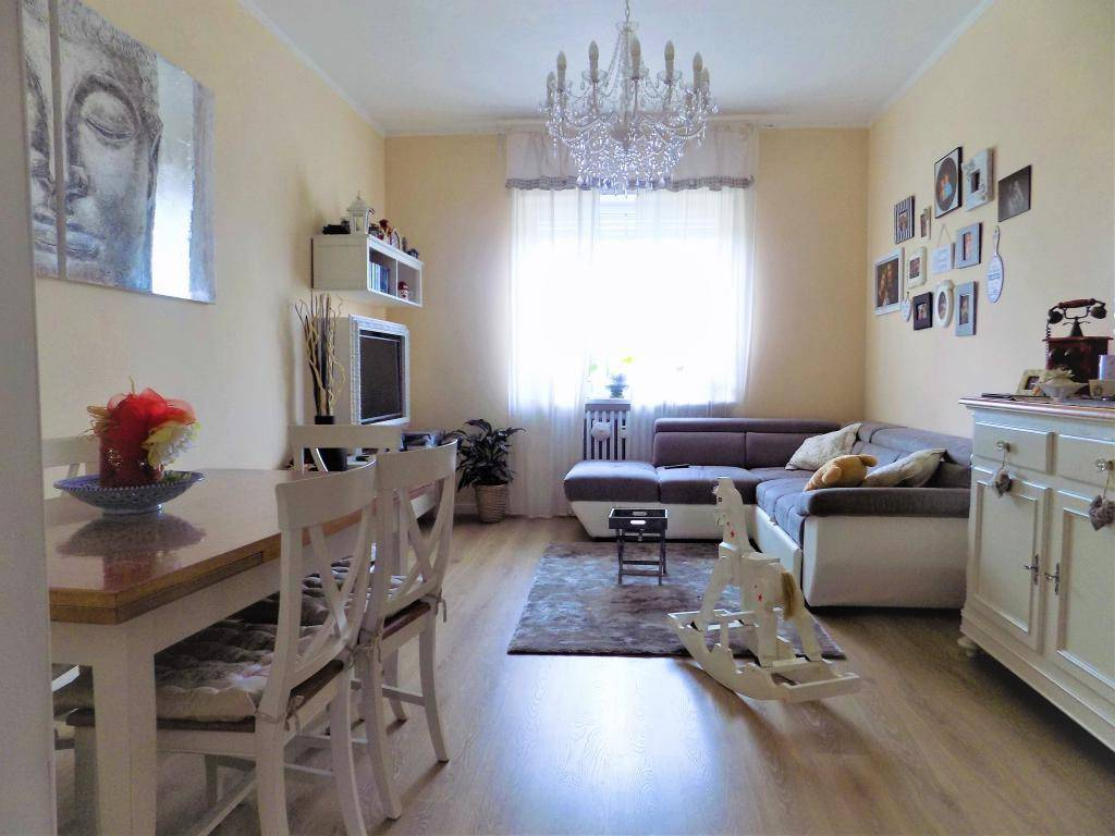 foto sala 4-room flat via Antonio Racca 99, Sanfrè
