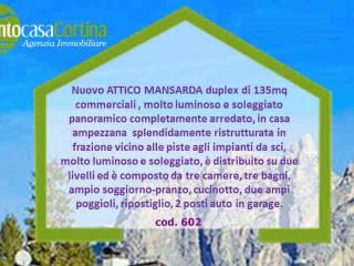 Foto - Attico / Mansarda nuovo, 137 mq, Cortina d'Ampezzo