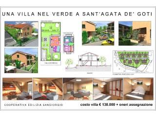 Foto - Villetta a schiera 5 locali, nuova, Sant'Agata de' Goti