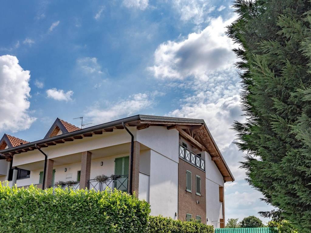 foto Trilocale Penthouse via Giotto 18, Masate