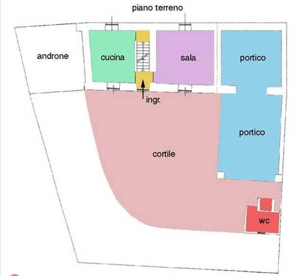 foto  Casa indipendente 300 mq, da ristrutturare, Fresonara