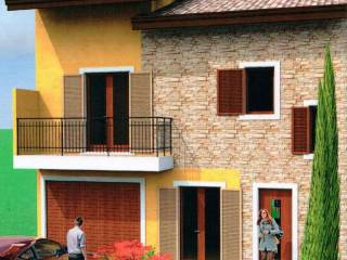 Foto - Villetta a schiera 4 locali, nuova, Castelletto Stura