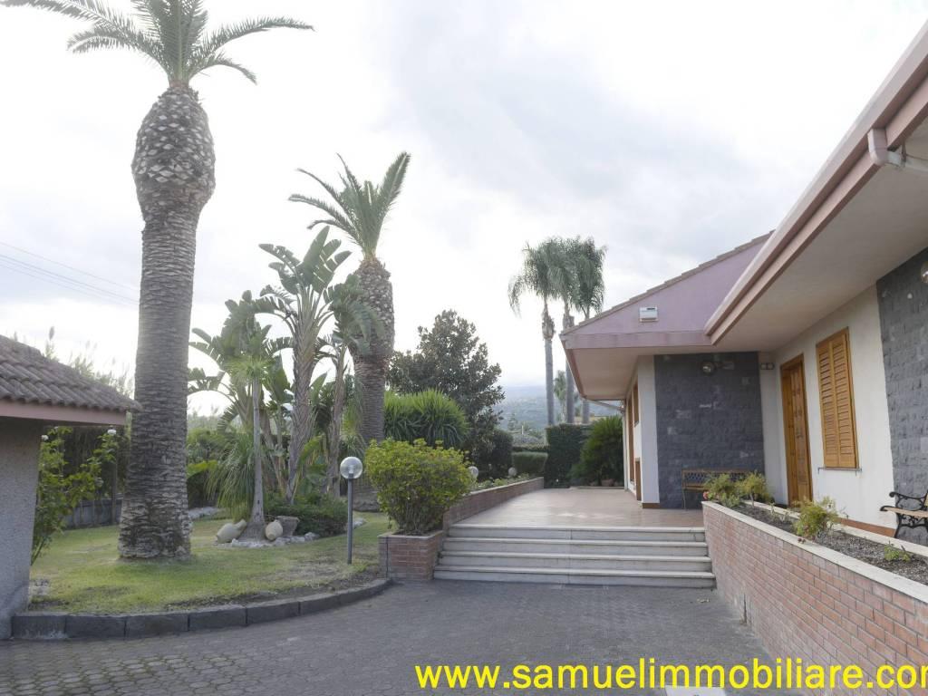 foto ingresso Villa viale Maria Immacolata, Mascali