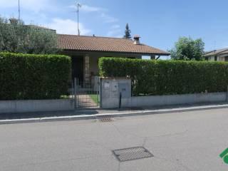Foto - Villetta a schiera via Sant'Angela Merici, 22, Chiari