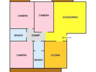 Foto - Appartamento via Campo Sportivo 1, Grinzane Cavour