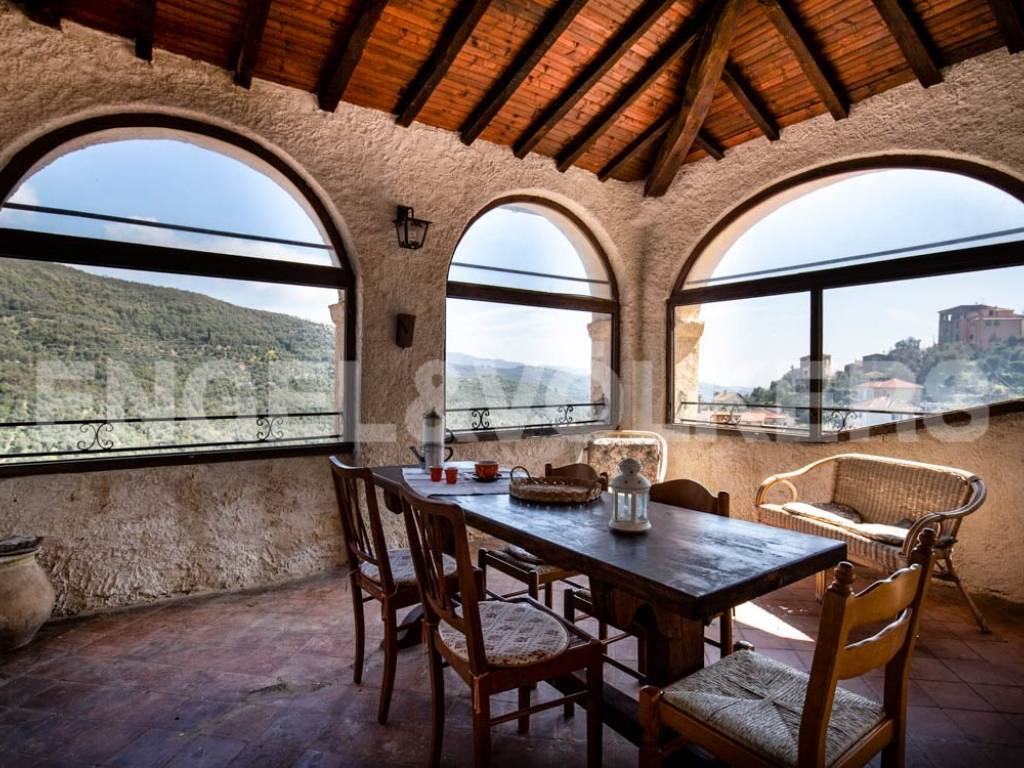 foto  Country house via Castellazzo, Dolcedo