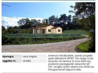 Foto - Terreno edificabile residenziale a Monte Castello di Vibio