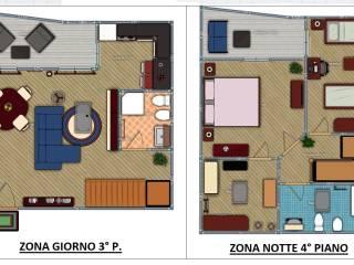 Foto - Quadrilocale nuovo, terzo piano, Montesilvano