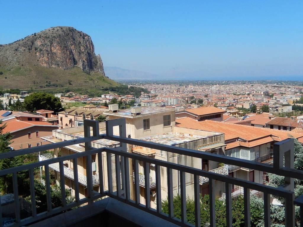 foto Vista Balcone Appartamento via Rosa Luxemburg, 18, Borgetto