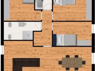 Foto - Appartamento via Carrubbio, 20, Monselice