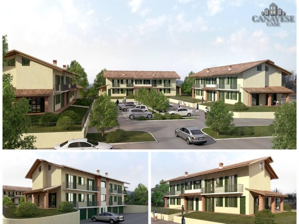 foto render esterno 2-room flat via Tri Boglio, Samone