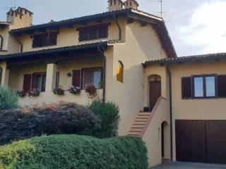 Foto - Villetta a schiera via Molino 22, Camburzano