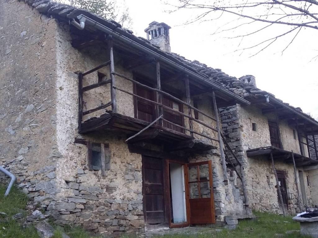 foto Lato Nord-Ovest Rustico / Casale Località Cioina, Trasquera