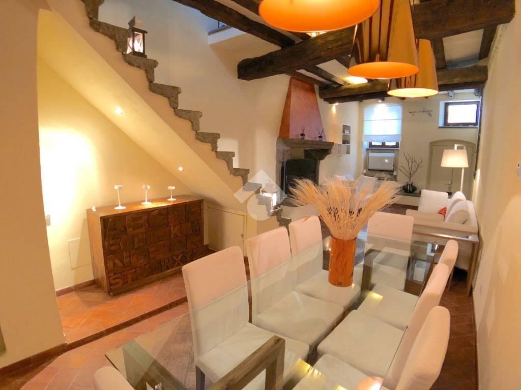 foto soggiorno Casa indipendente via del Belvedere, 49, Vitorchiano