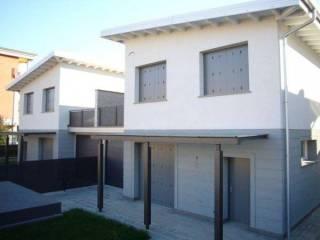 Foto - Villa bifamiliare, nuova, 160 mq, Romano di Lombardia