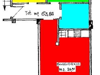 Foto - Trilocale buono stato, terzo piano, Ceriale