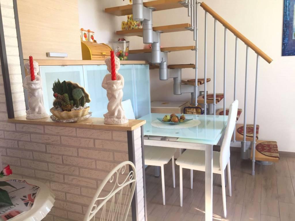foto cucina Quadrilocale via P  Mainero 41, Toirano