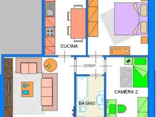 Foto - Trilocale nuovo, primo piano, Lungavilla