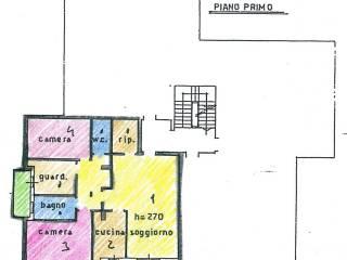 Foto - Trilocale buono stato, primo piano, Lancenigo, Villorba