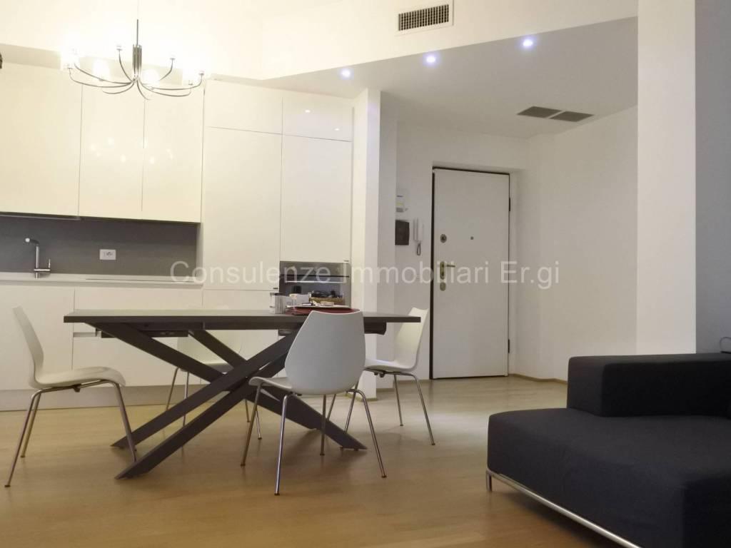 foto soggiorno 3-room flat excellent condition, first floor, Garbagnate Milanese
