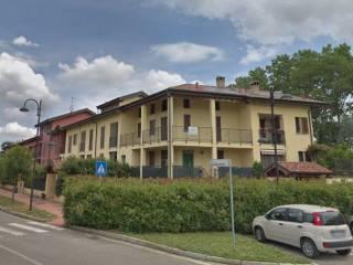 Foto - Villetta a schiera via del Boccacino, Baselica, Giussago