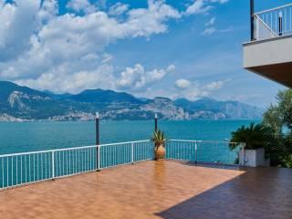 Foto - Villa via Don Francesco Angeleri 15, Brenzone sul Garda