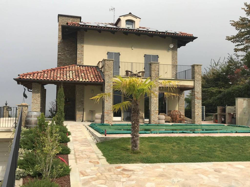 foto ESTERNO Single family villa, new, 315 sq.m., Benevello