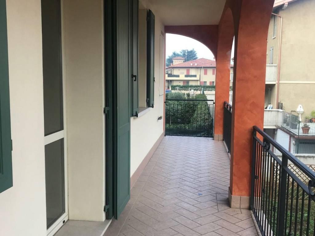foto Loggia Trilocale via Giovanni Paolo II, Rodengo Saiano