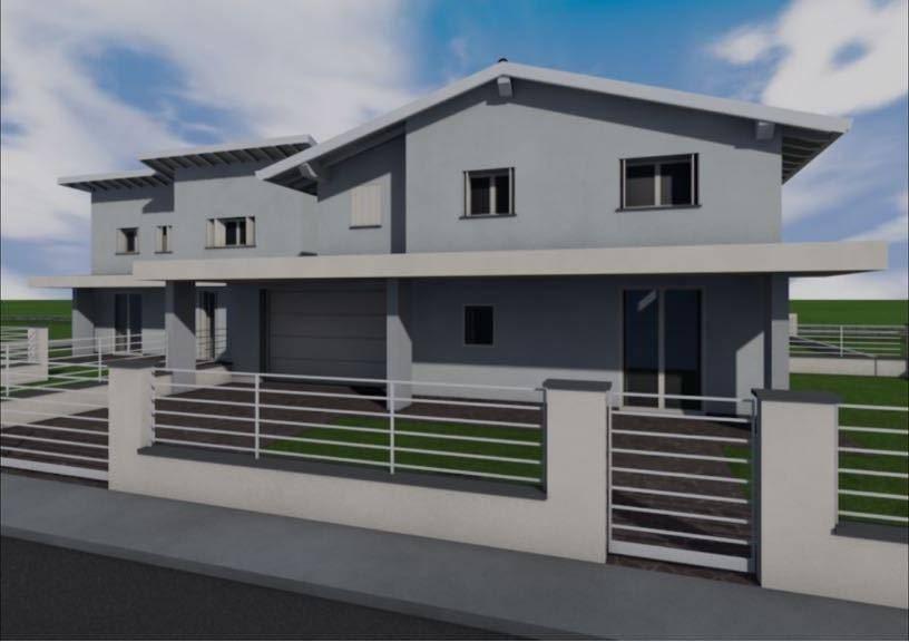 foto  Multi-family villa, new, 170 sq.m., Bagnolo San Vito