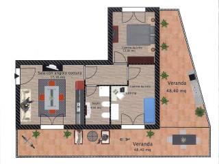 Foto - Trilocale nuovo, terzo piano, Alghero